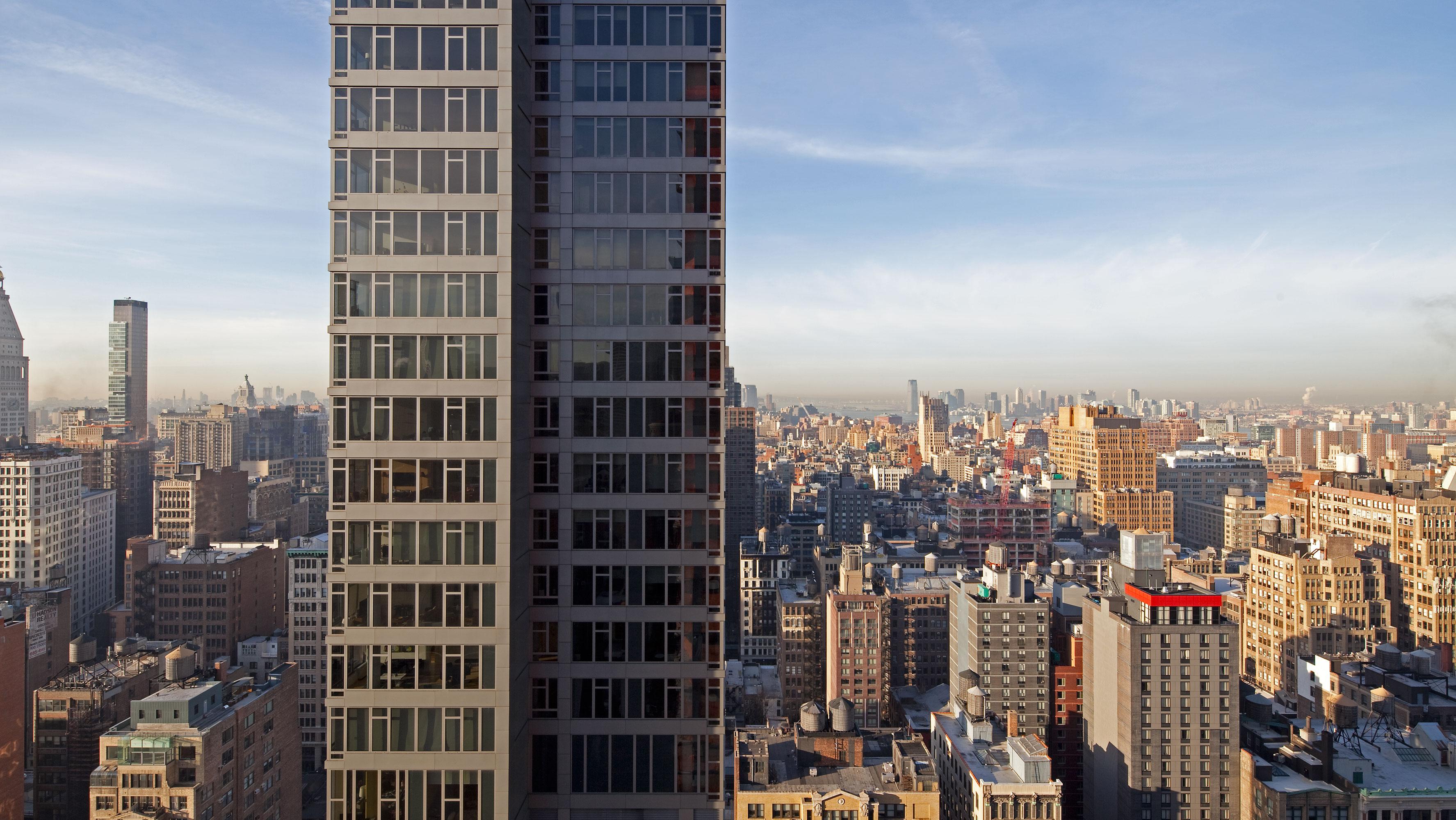 34th Floor east, south